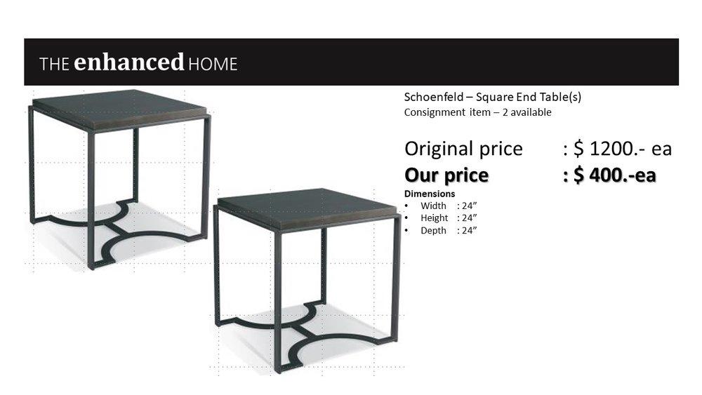 Schoenfeld – Square End Table(s).jpg