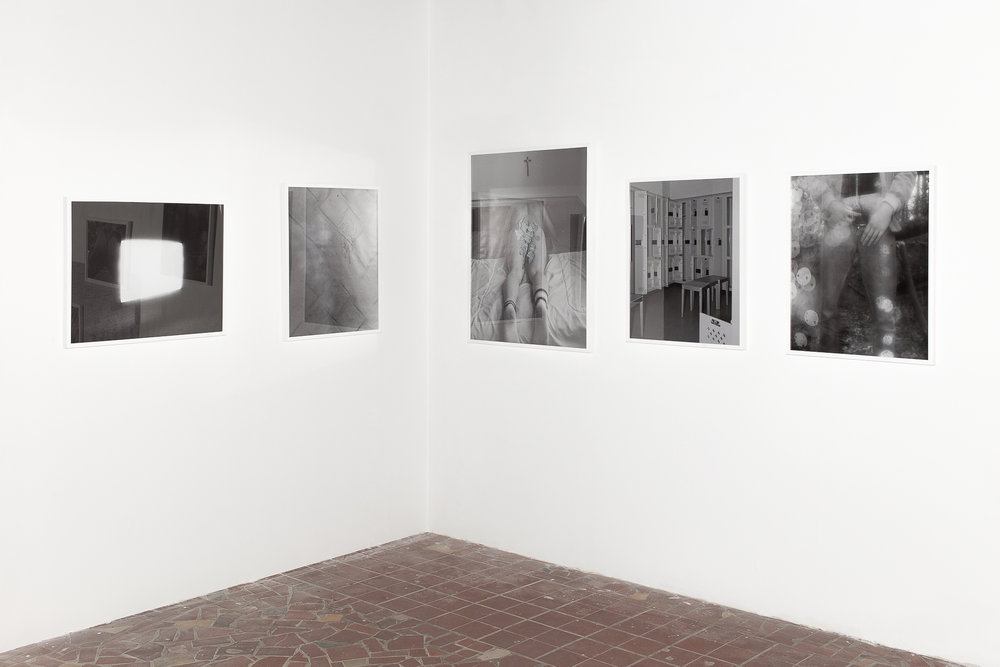 Documentation from '804-248-4861: A Thesis Exhibition'  Four 24x30in. & One 32x40in.  Richmond, VA (2018)