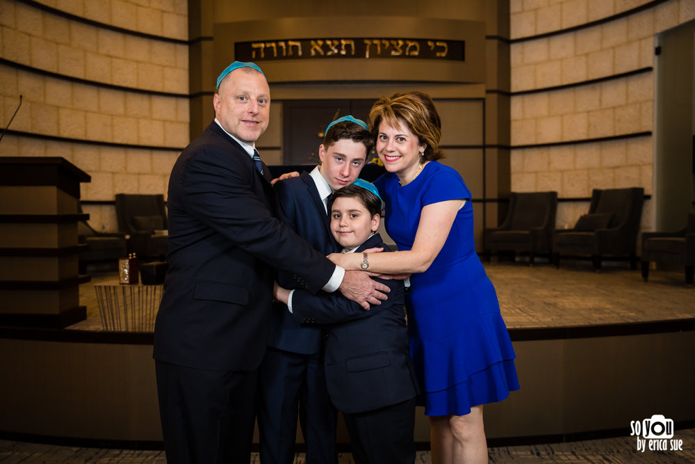 bar mitzvah family portrait