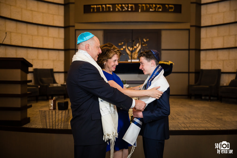 bar mitzvah tallit tallis presenting tallis