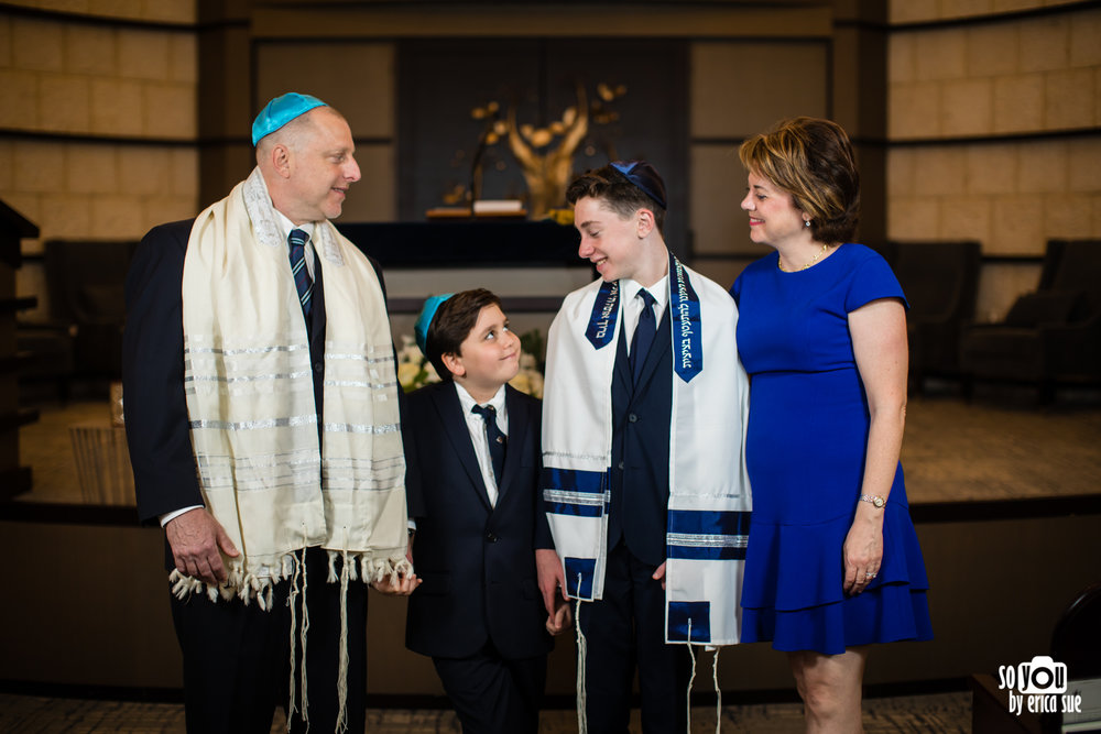 bar mitzvah family photography
