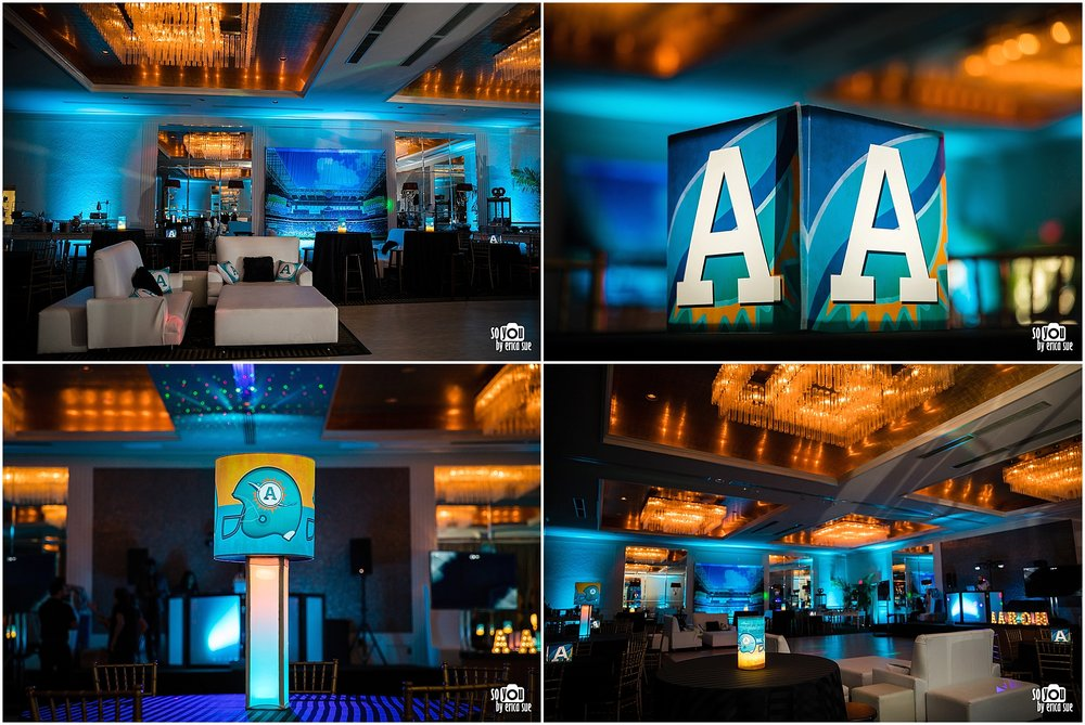 bar mitzvah sports theme miami dolphins