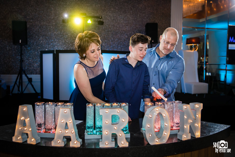 bar mitzvah candlelighting