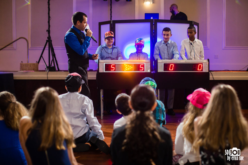 mitzvah game show jason bank
