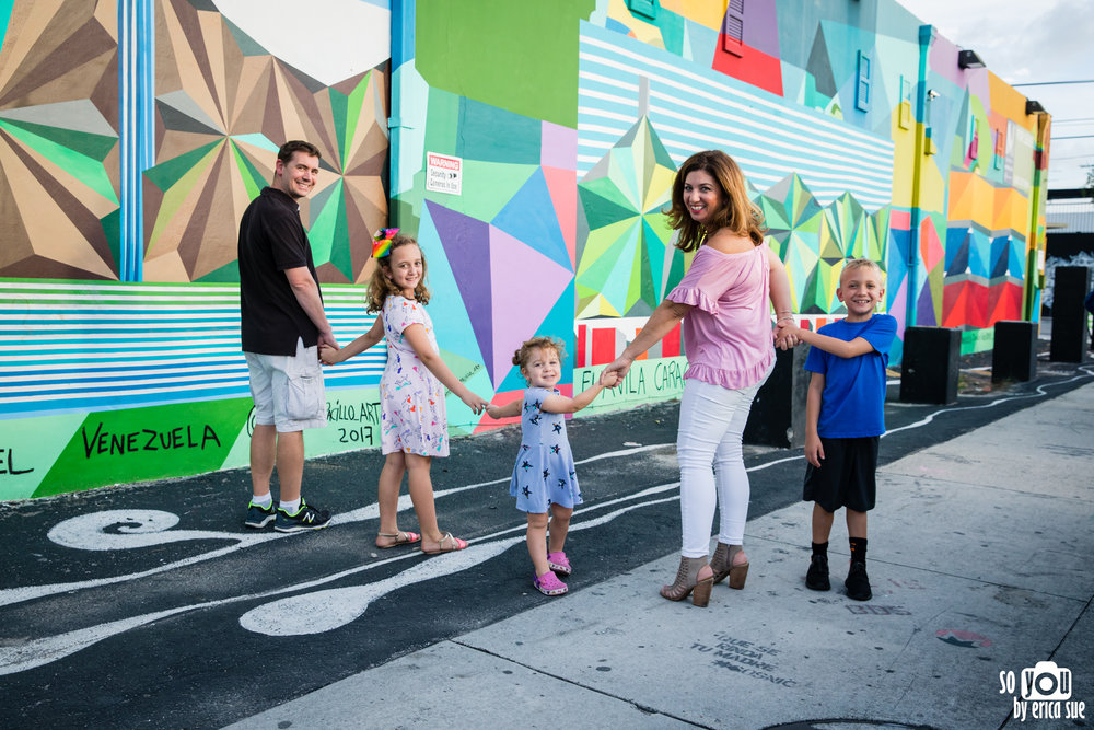 wynwood walls family photography