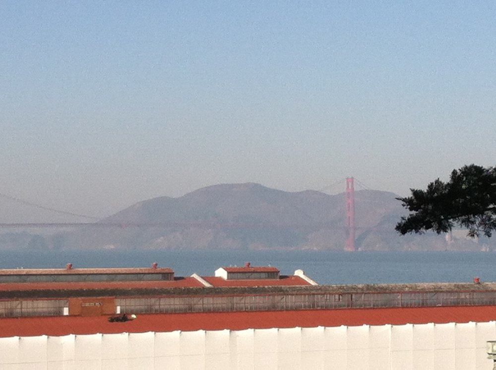 Golden Gate Bridge in the Background, Red and Black Ink, LLC, 2013