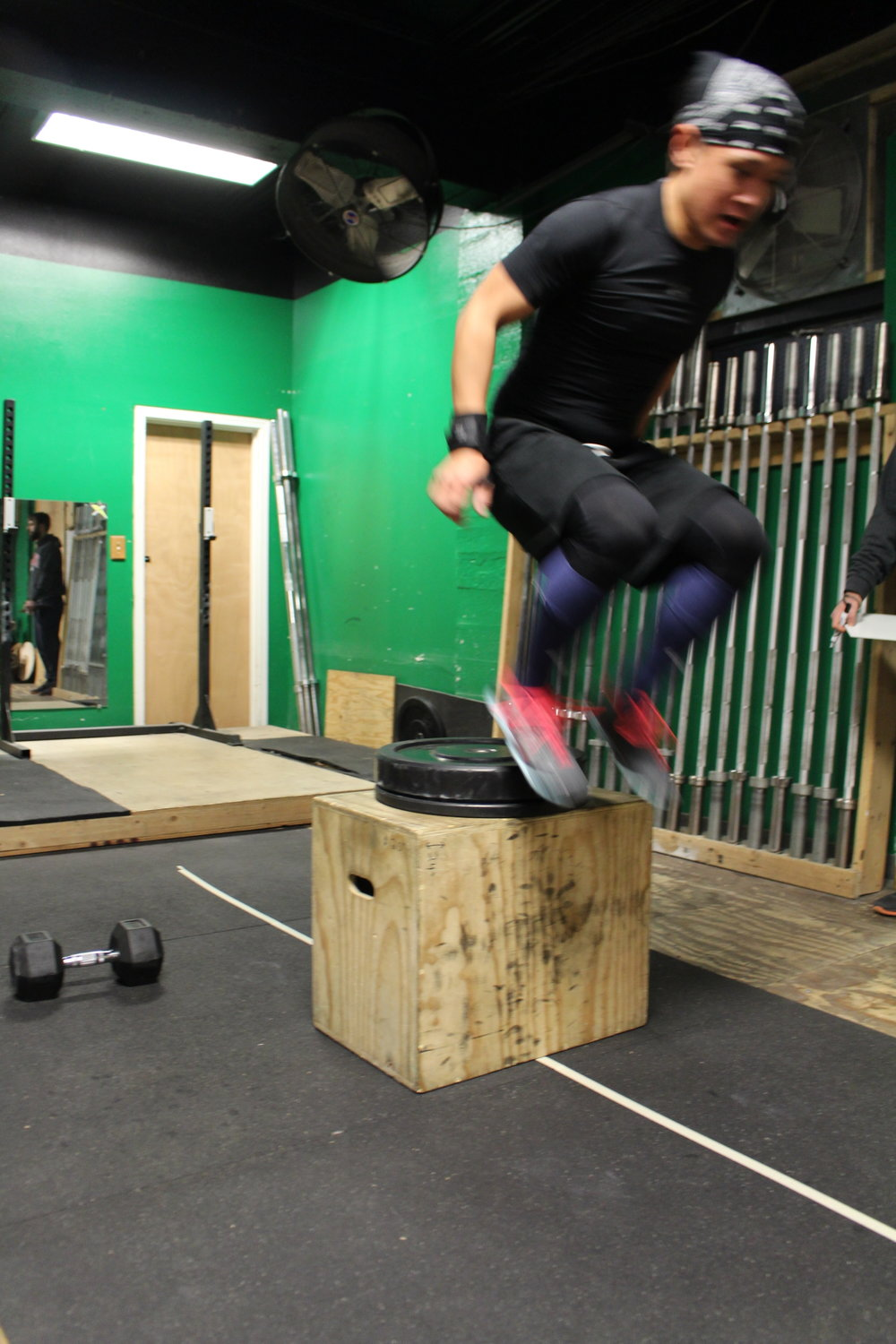 Aaron jumping right into Tuesday!