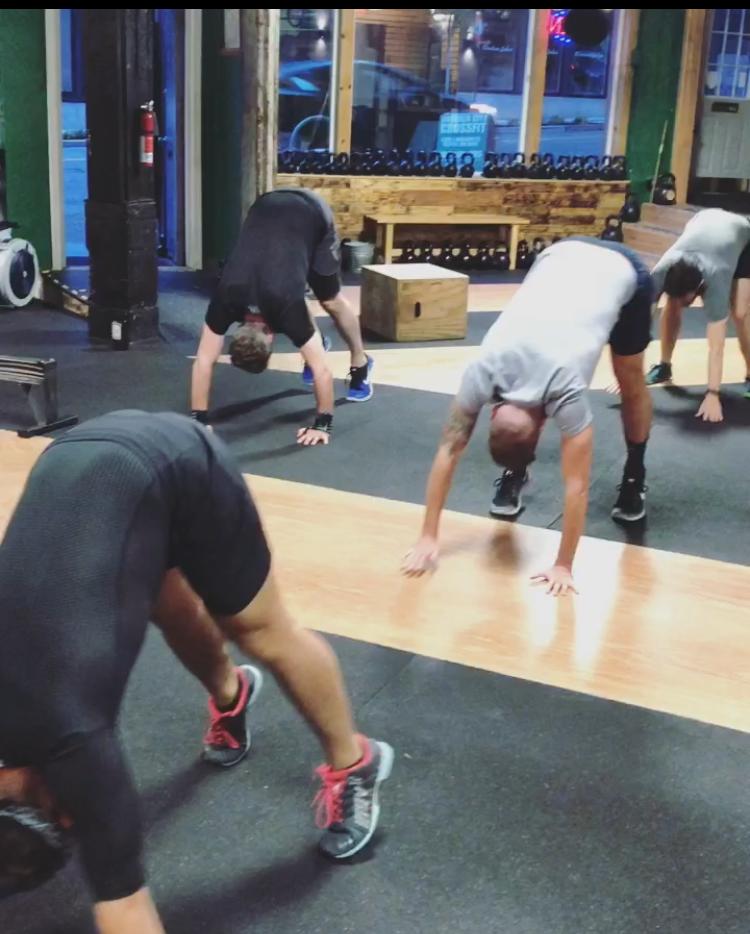 The Gymnasty Bear Crawl!