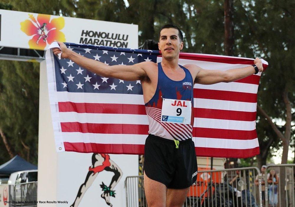 Donn Cabral's Marathon Debut -