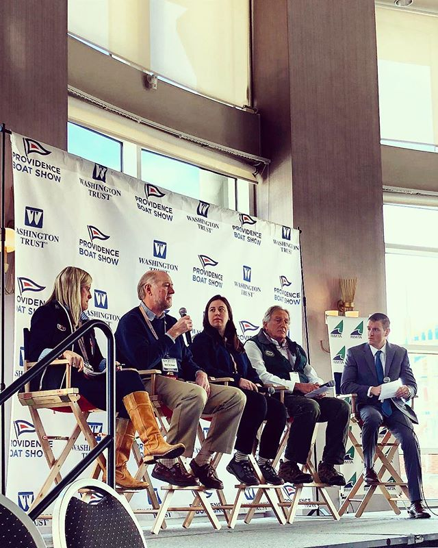 CaptureRI attends the RIMTA Industry Breakfast at the Providence Boat Show this morning to hear from all the generous donors of the Hurricane Relief Efforts at the RI Convention Center 👏🏼 #newportshipyard #cayelectronics #navionics #jamestownboatyard #RIMTA #providenceboatshow #captureri #rhodeisland #carribean #hurricanerelief
