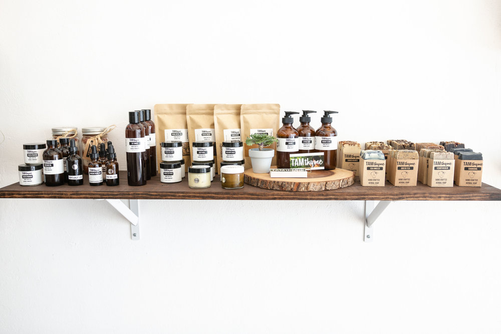 Tam Thyme handcrafted organic all natural herbal sops apothecary skin care California Los Angeles Berkley