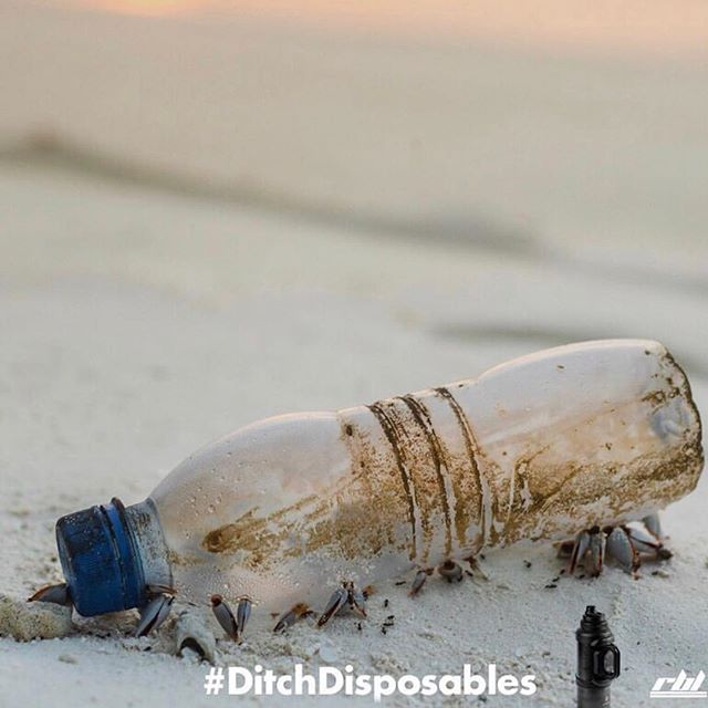 We're putting our hearts and souls into this project. We only get one planet and this is a great chance to make a difference. #DitchDisposables @rblsupply