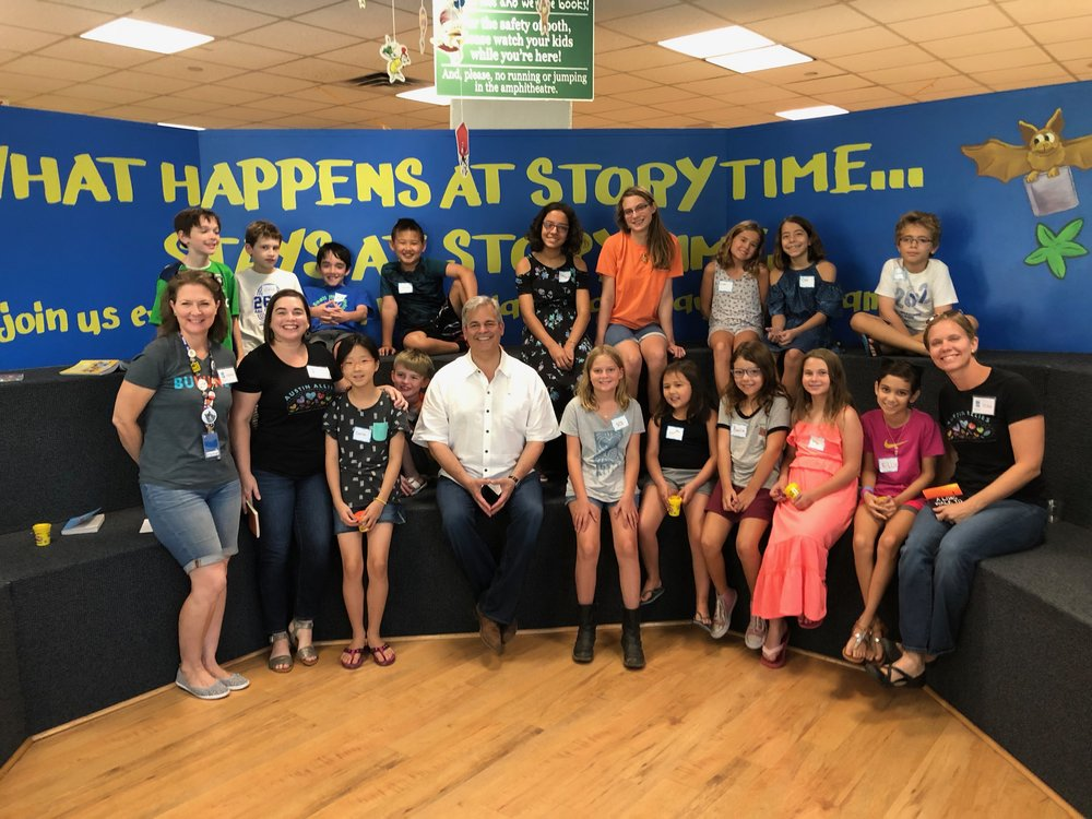 Kids' Book Club with Mayor Adler!
