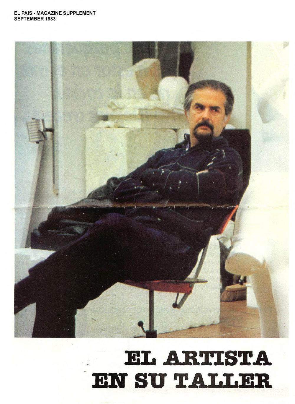 El Pais Magazine, 1983