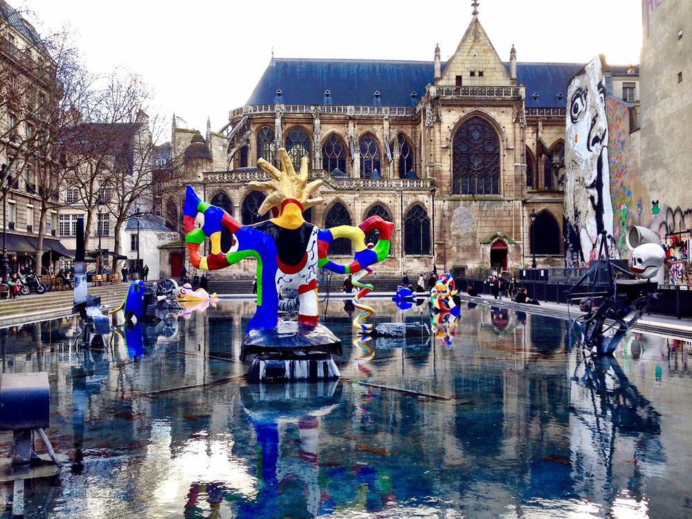 Jean Tinguely and Niki de Saint Phalle