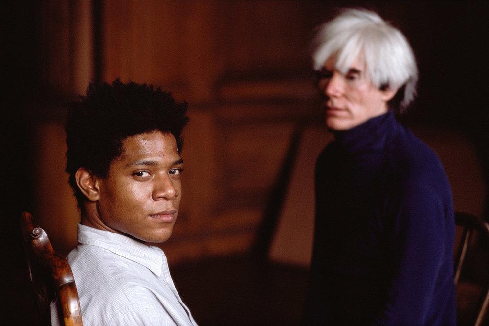 Jean-Michel Basquiat & Andy Warhol