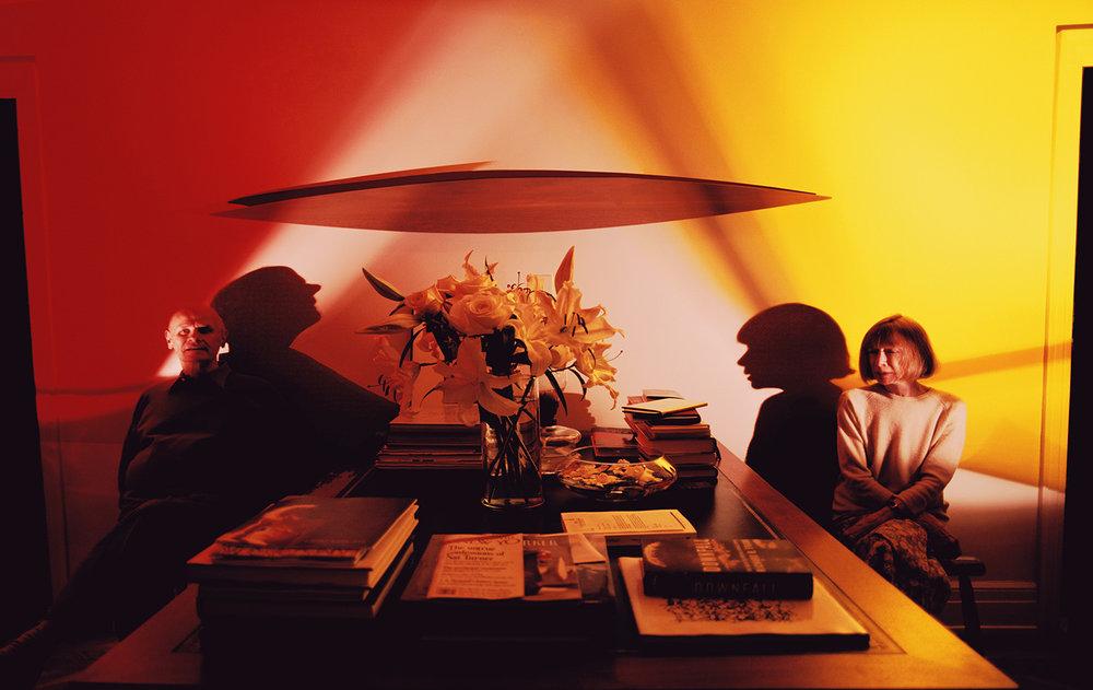 Joan Didion & John Gregory Dunne