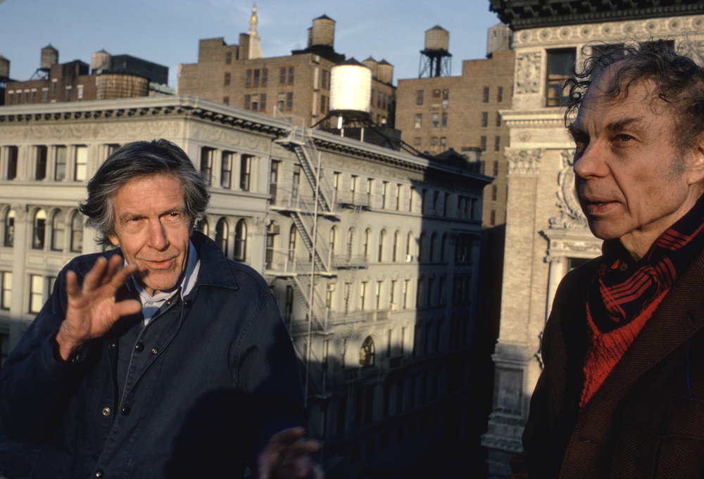 John Cage and Merce Cunningham