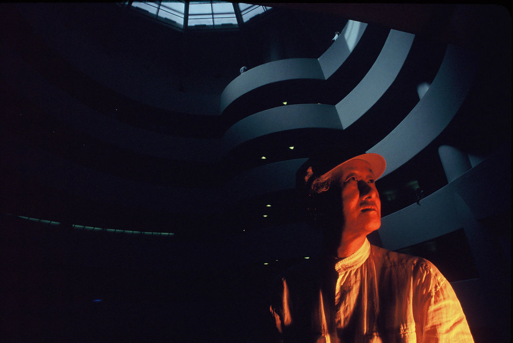 Izosaki at the Guggenheim Museum- New York, NY
