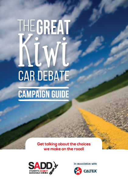 The great Kiwi car debate - Campaign guide