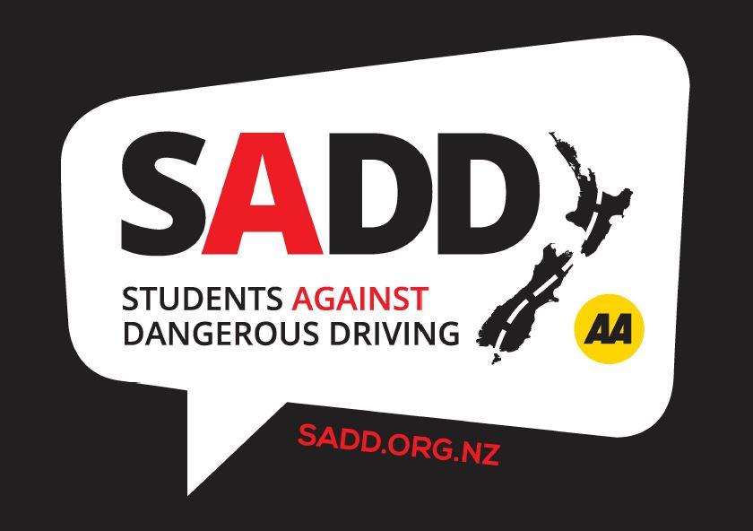 SADD logo - A3 poster