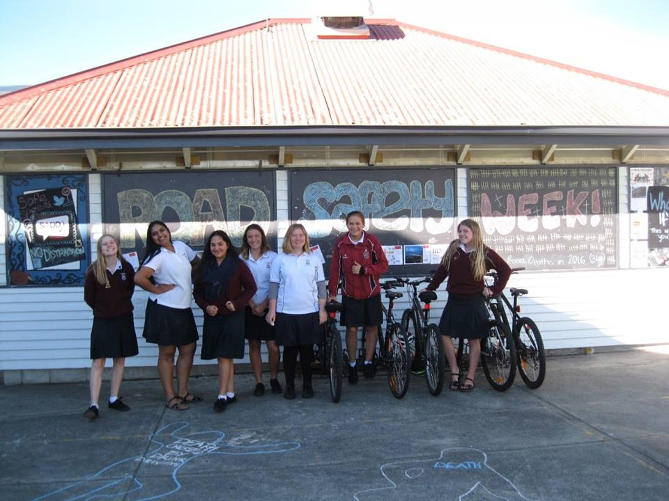 Te Puke High School<br><small>Owning road safety week</small>