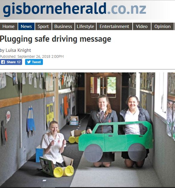 Gisborne Herald Article on Gisborne Girls' High School