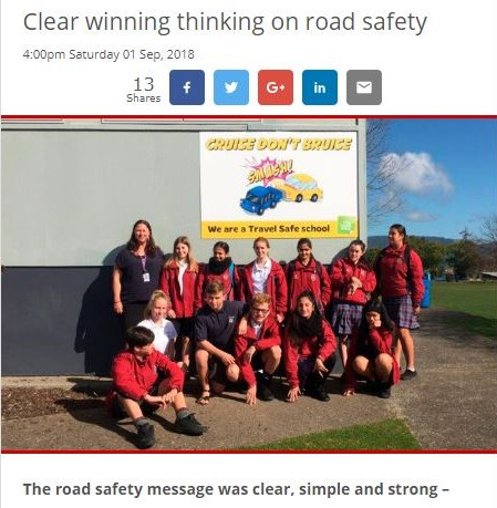 Sun Live Article about Te Puke High School