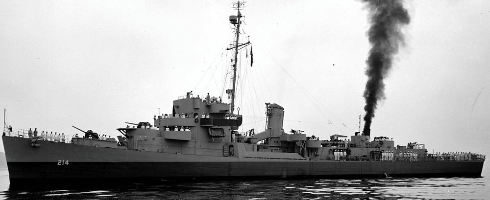 USS Scott Destroyer Escort 214
