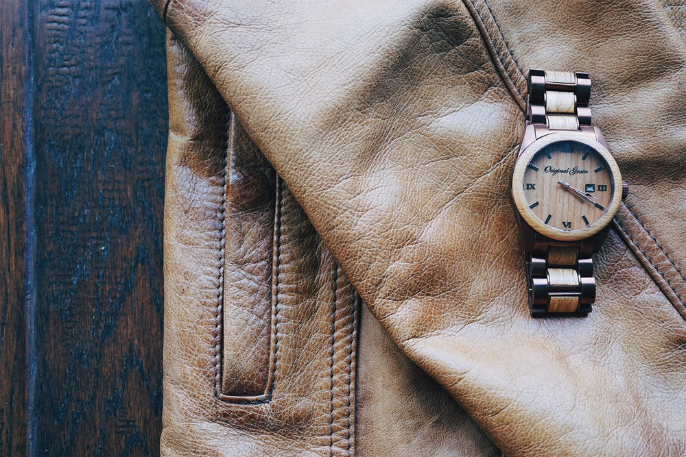 Original Grain Men's Fashion Watch