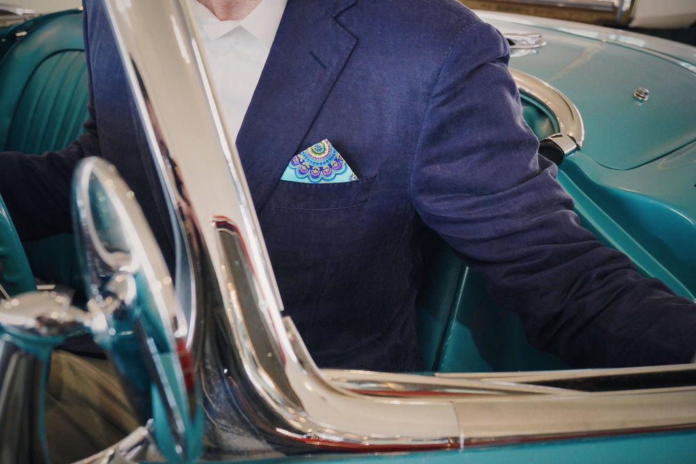 Spring Pocket Square Inspiration