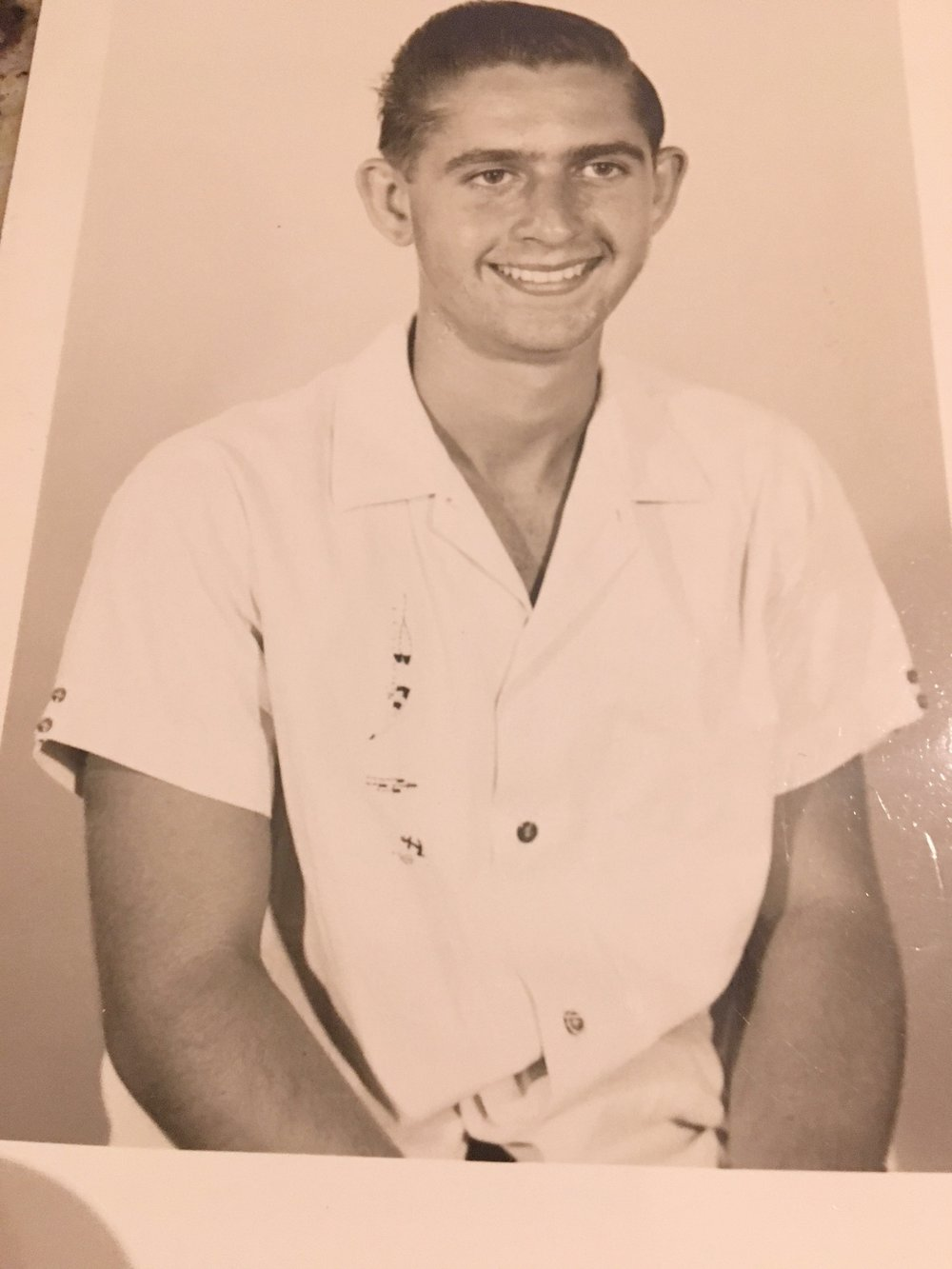 My father at age 14