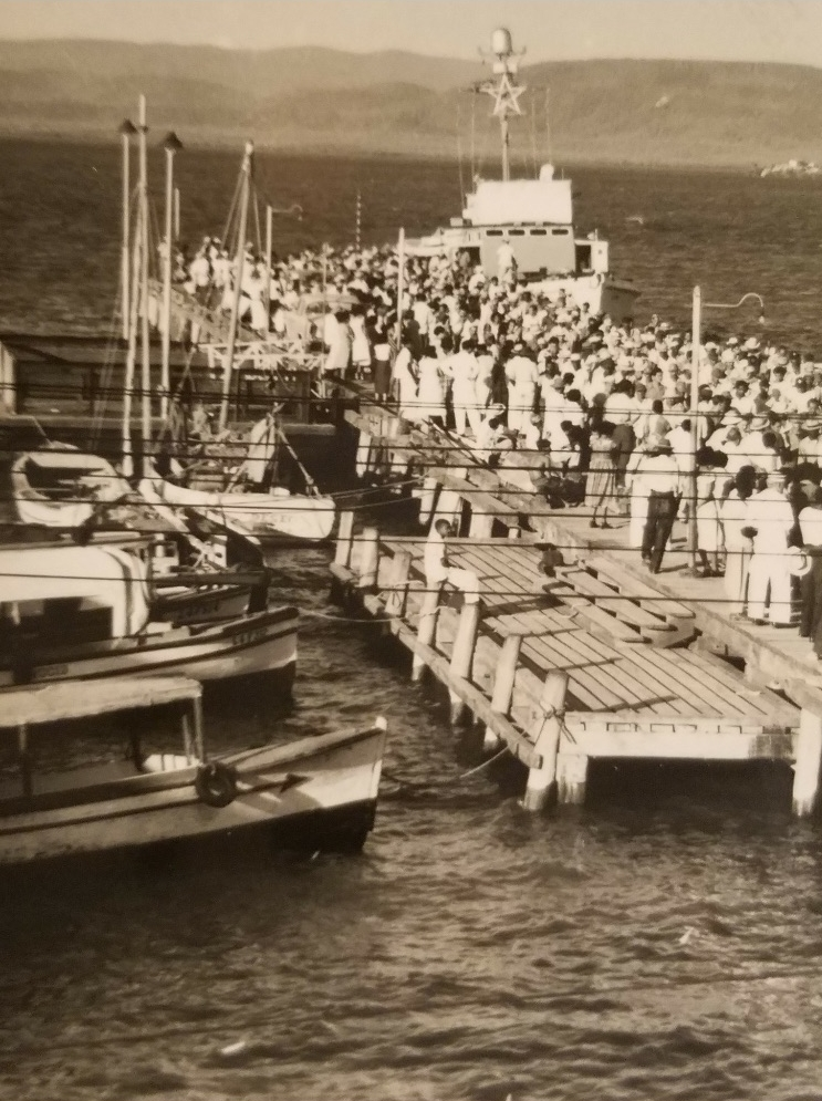 These are the boats the Cuban's would take everyday to the Naval Base to work