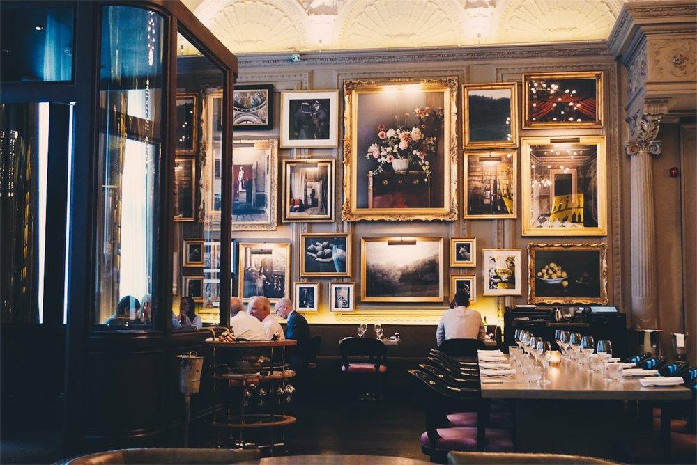 The London Edition Hotel - Berners Tavern
