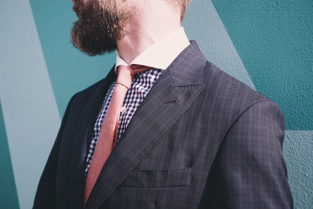 Men's ties and button down