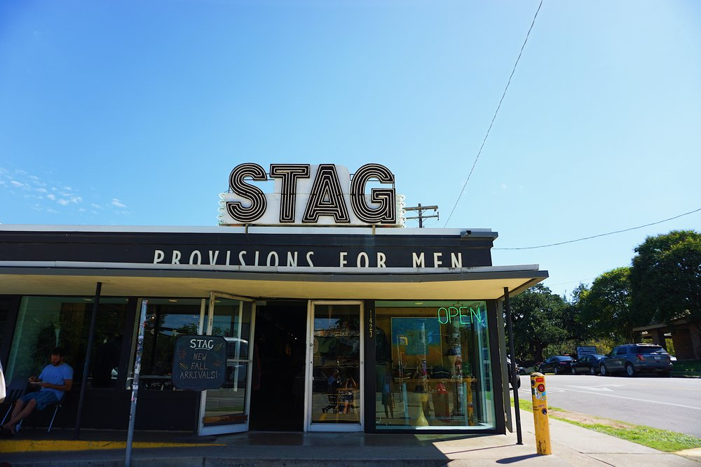 Stag Store in Austin Texas