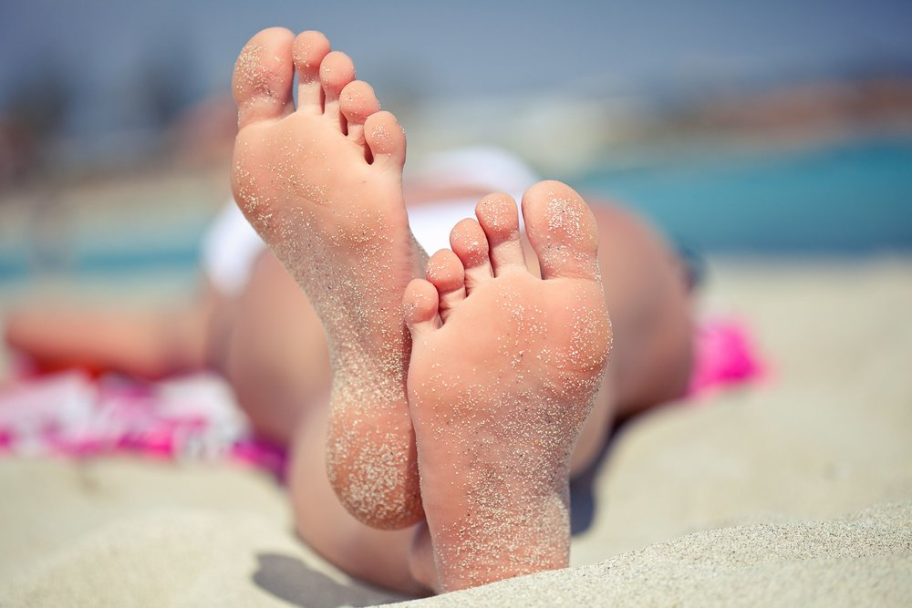 """Repeated visits to the beach or tanning salon could be signs of an addiction, according to a study in mice."" – Nature, Research highlights doi:10.1038/510447e. Image credit:  etsishats.com"