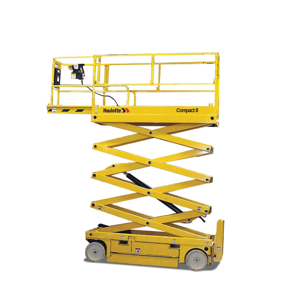 Electric Scissor Lifts - Electric scissor lifts are a safe economical way to reach heights while work inside on your job-sites.Contact YG Rentals for more details.