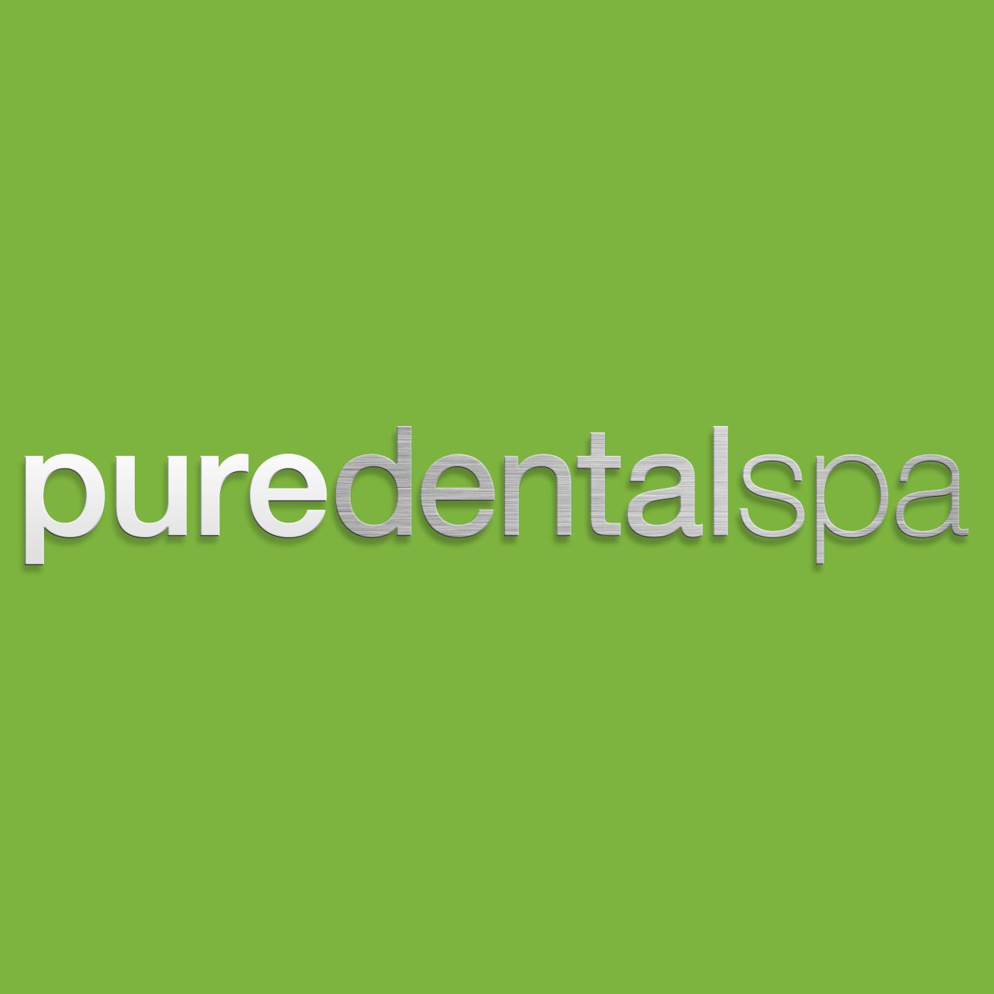 Pure Dental Spa Name Brand Identity Interior Design