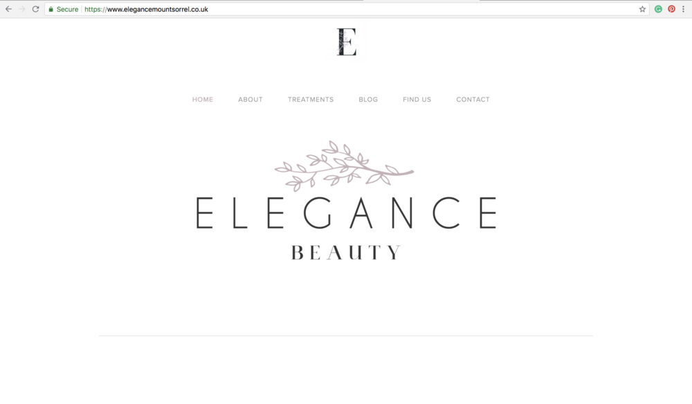beauty salon websites loughborough