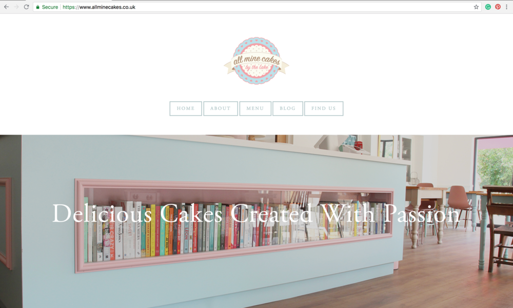 cafe website Southwell