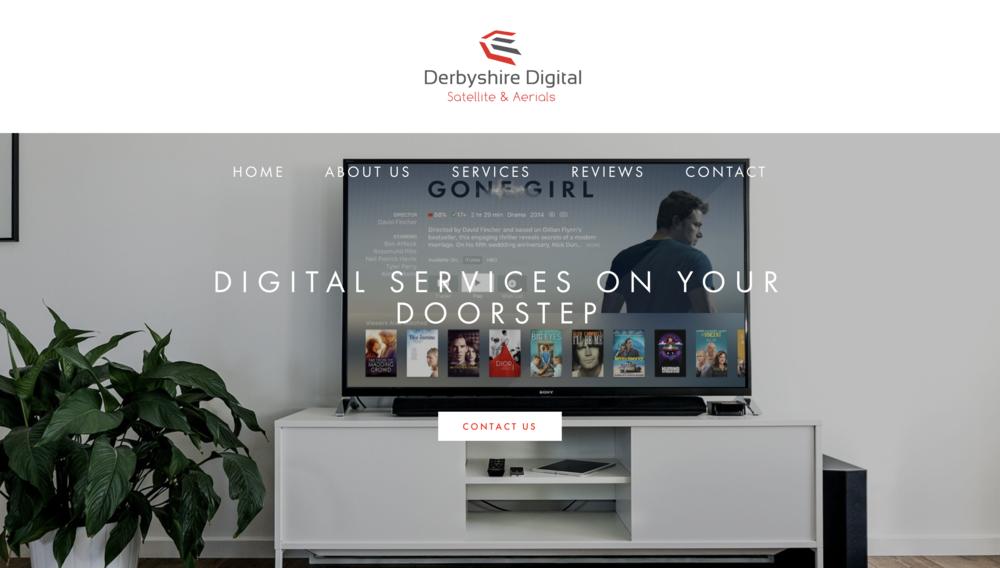 derbyshire digital website