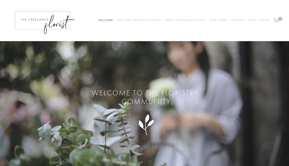 the freelance florist website