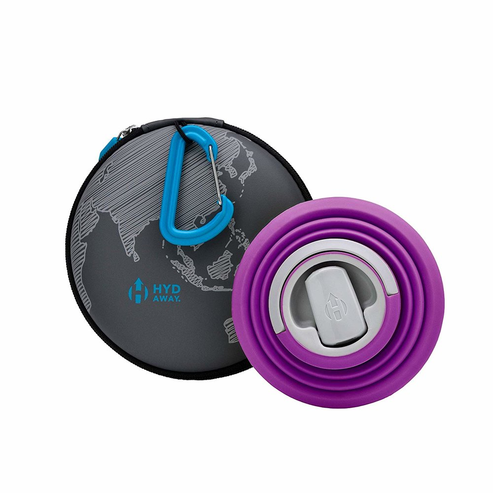 Hydaway collapsible travel cup