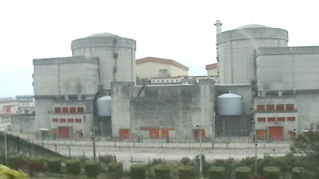Lingao Nuclear Power Station, below, is beautiful too