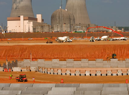 Vogtle Plant Construction Site
