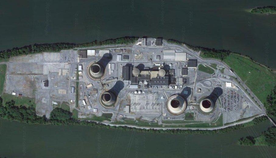 Three Miler Island nuclear plant
