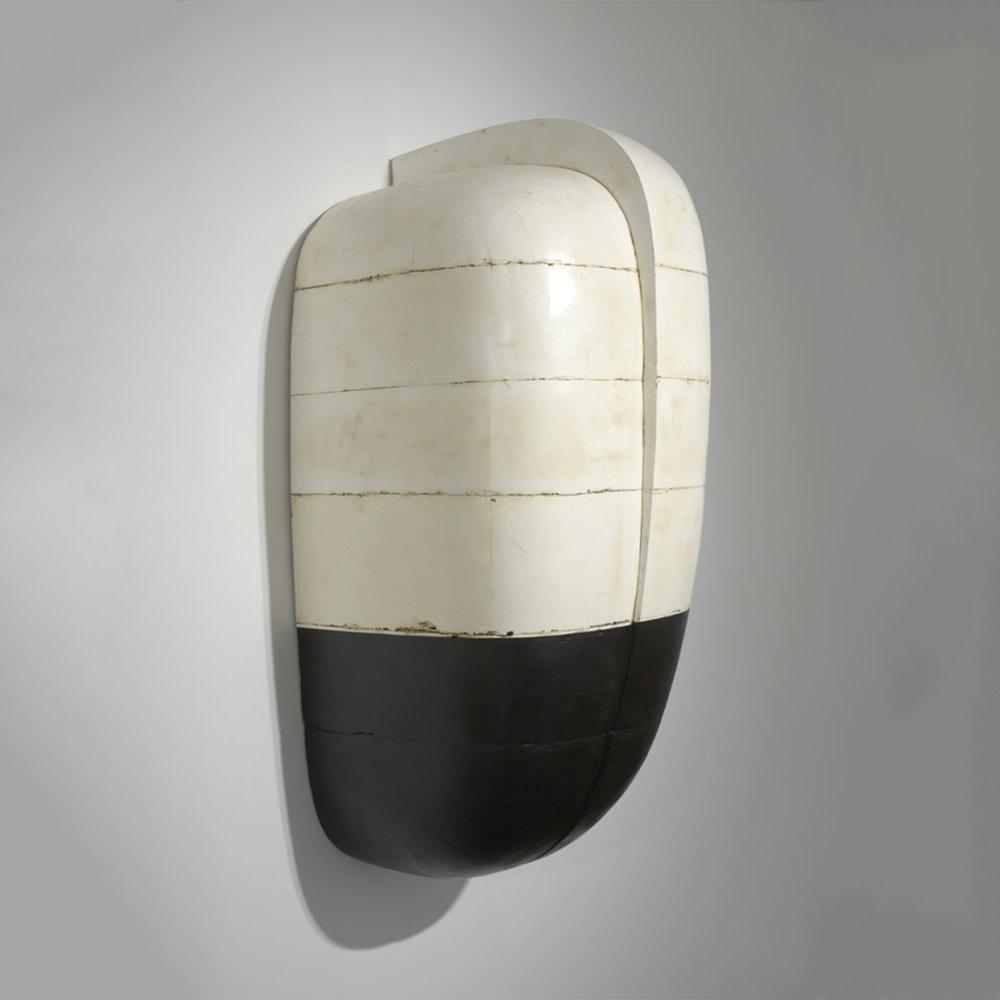 #69  Enamel, oil, plaster, resin, tar and wax 51 x 22 x 19 inches 129.5 x 56 x 48 cm 2008-2010
