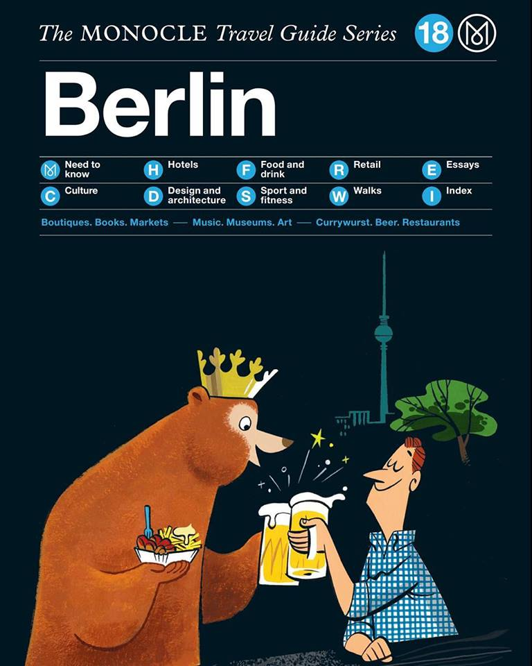 The Monocle Travel Guide, Berlin.  Link .