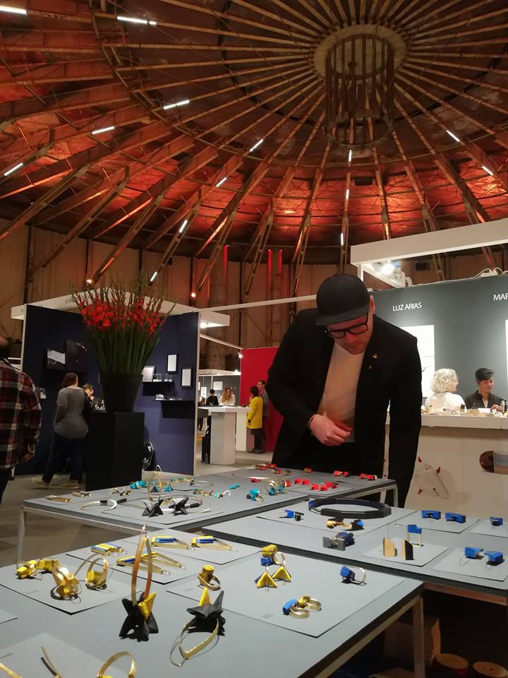 MUTA in Amsterdam at SIERAAD Art Fair, international jewellery design fair